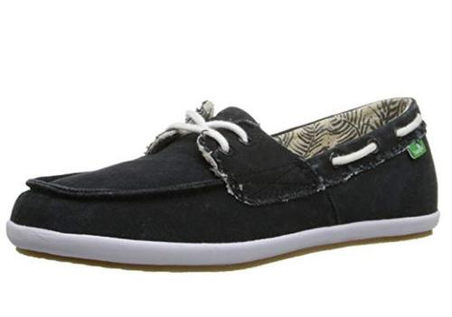 Sanuk Women's Sailaway 2 Fray Boat Shoe