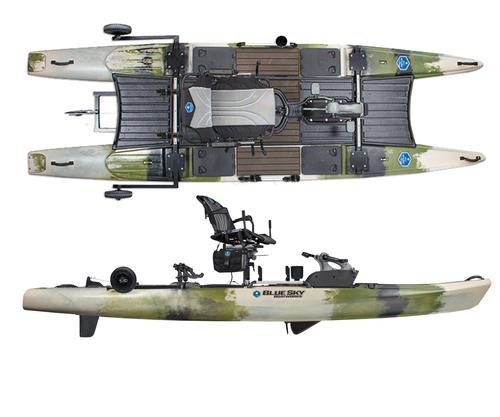 Blue Sky Boatworks 360 Angler Fishing Kayak