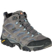 Merrell Women's Moab 2 Mid Waterproof Hiking Boot Granite