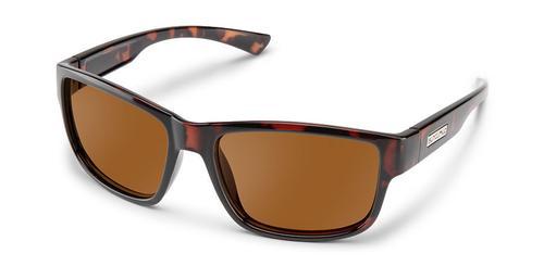 Suncloud Optics Suspect Sunglasses Havana with Polar Brown Lens