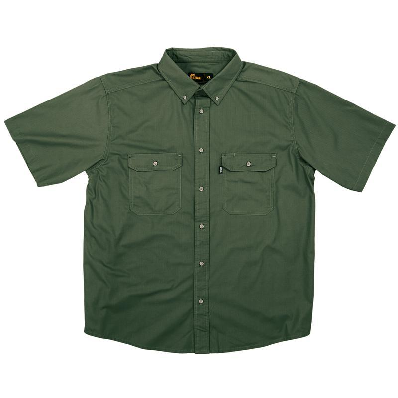 Berne Short Sleeve Ripstop Work Shirt
