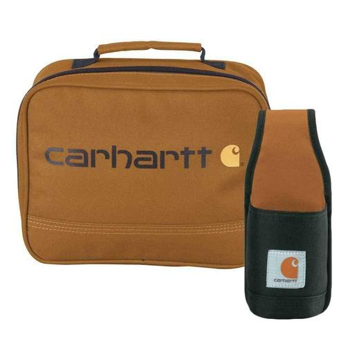 Carharrt Lunch Box With Beverage Holster