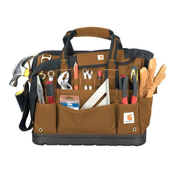 Carharrt 16-Inch Legacy Tool Bag BROWN