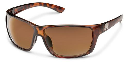 Suncloud Optics Councilman Sunglasses Tortoiseshell with Polar Brown Lens