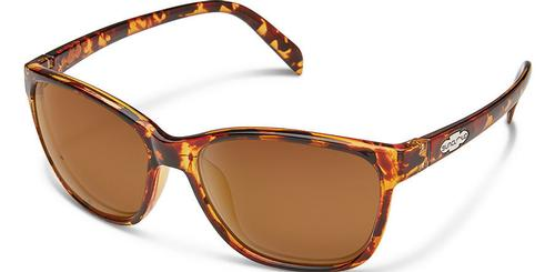 Suncloud Optics Dawson Sunglasses Tortoiseshell with Polar Brown Lens