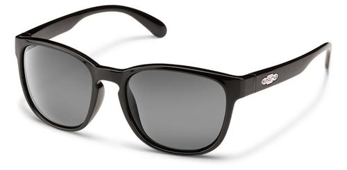 Suncloud Optics Loveseat Sunglasses Black with Polar Grey Lens