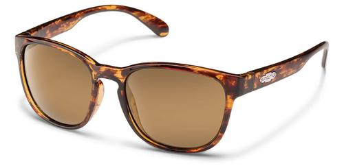 Suncloud Optics Loveseat Sunglasses Tortoise with Sienna Mirror Lens