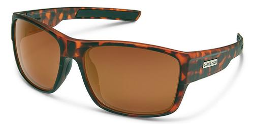 Suncloud Optics Range Sunglasses Matte Tortoiseshell with Polar Brown Lens