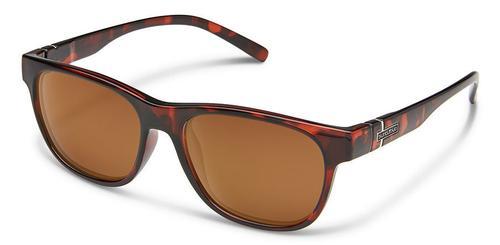 Suncloud Optics Scene Sunglasses Tortoiseshell with Polar Brown Lens