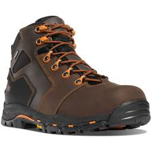Danner Men's Vicious Nonmetallic Toe Work Boot BROWN/ORANGE
