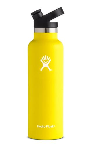 Hydroflask 21oz Standard Mouth Bottle with Sport Cap