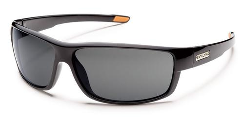 Suncloud Optics Voucher Sunglasses Black with Polar Grey Lens