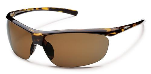 Suncloud Optics Zephyr Sunglasses Tortoise with Polar Brown Lens