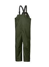 Helly Hansen Workwear Men's Mandal Waterproof Rain Pant Bib Overalls DARK_GREEN