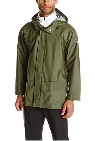 Helly Hansen Workwear Men's Mandal Durable Waterproof Hooded Rain Coat