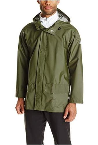 Helly Hansen Workwear Men's Mandal Durable Waterproof Hooded Rain Coat