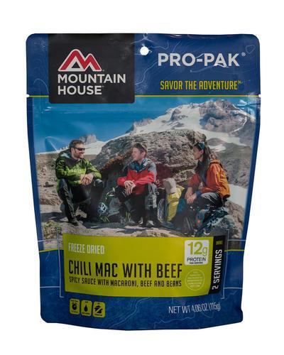 Mountain House Chili Mac with Beef Propak