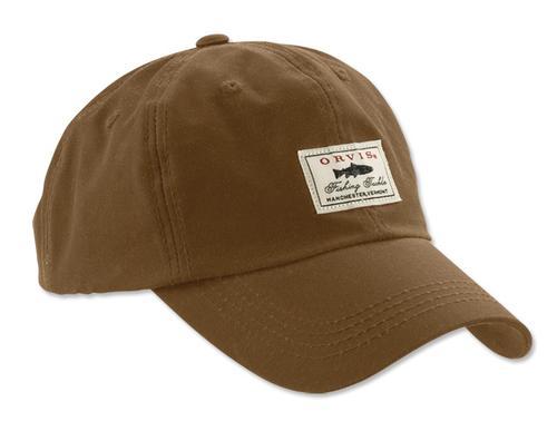 Orvis Vintage Waxed Cotton Ball Cap