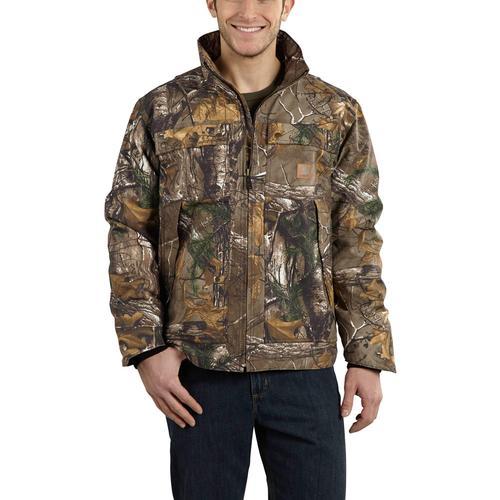Carhartt Men's Quick Duck Camo Traditional Jacket