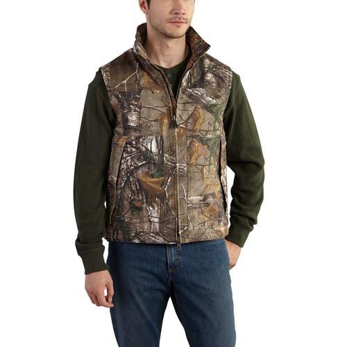 Carhartt Men's Camo Quick Duck Vest