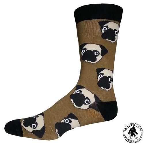 Bigfoot Sock Company Pug Socks