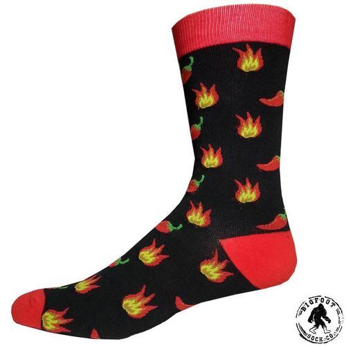Bigfoot Sock Company Hot Chili Pepper Socks