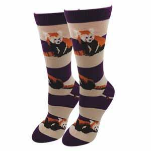 Sock Harbor Red Panda Socks