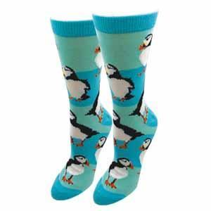Sock Harbor Ladies Puffin Sock