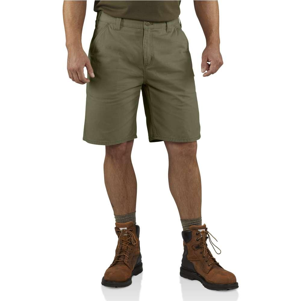 Carhartt Men's Washed Twill Dungaree Shorts ARMY_GREEN