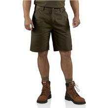 Carhartt Men's Washed Twill Dungaree Shorts DARKCOFFEE