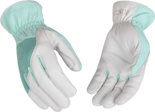 Kinco Women's Grain Goatskin Leather Palm Gloves