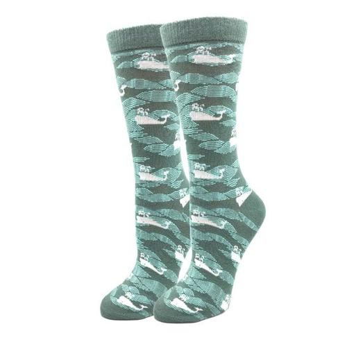 Sock Harbor White Whale Socks