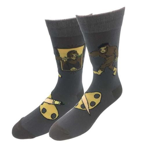 Bigfoot Sock Company Mona Lisa Bigfoot Socks