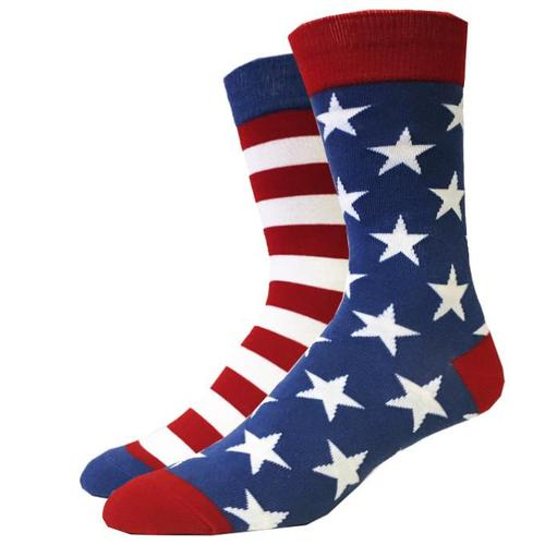 Bigfoot Sock Company Vintage USA Flag Socks