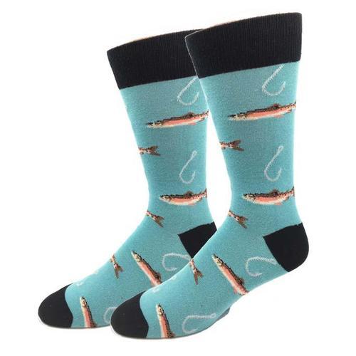 Bigfoot Sock Company Hookin Trout Socks