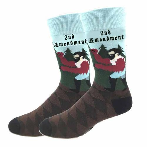 Bigfoot Sock Company 2nd Amendment Socks