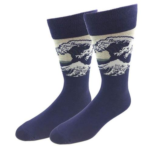 Bigfoot Sock Company Big Wave Socks