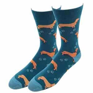 Sock Harbor Wiener Dog Socks
