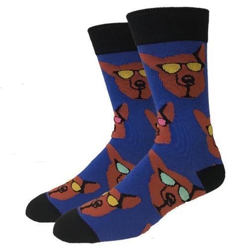 Bigfoot Sock Company Retro German Shepherd Socks