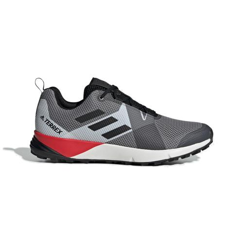 Adidas Men's Terrex Two Trail Running Shoe in Grey Three