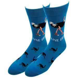 Sock Harbor Ostrich Socks