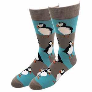 Sock Harbor Puffin Socks