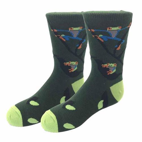 Sock Harbor Frog Kids Socks