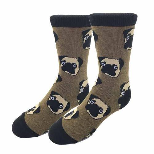 Sock Harbor Pug Kids Socks