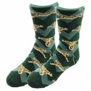 Sock Harbor Cheetah Youth Socks