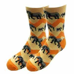 Sock Harbor Elephant Youth Socks
