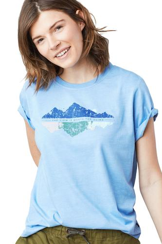 United By Blue Women's Worth The Climb Tee