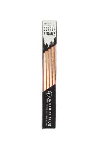 United by Blue Adventure Copper Straw Set