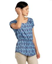 Toad & Co Women's Hillrose Tee BLUE_SHADOW