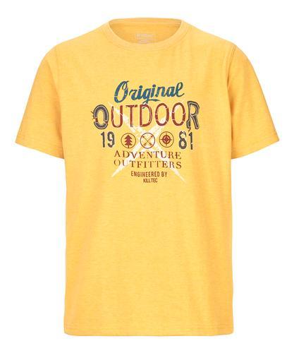 Killtec Boy's Adairo Jr Print T-Shirt